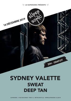 Sydney Valette • Sweat • deep tan / Supersonic (Free entry)