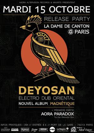 Deyosan Release Party Magnétique