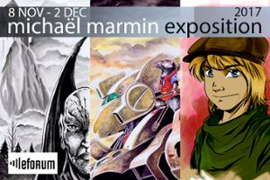 [vernissage] Exposition de Michaël Marmin