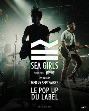 SEA GIRLS // 25.09.19 // POPUP!
