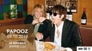 Papooz en concert à Marseille !