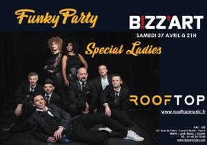 Funky Party w/ Rooftop, special ladies