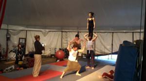 Atelier d'Initiation aux Arts du Cirque (Adulte en Piste)