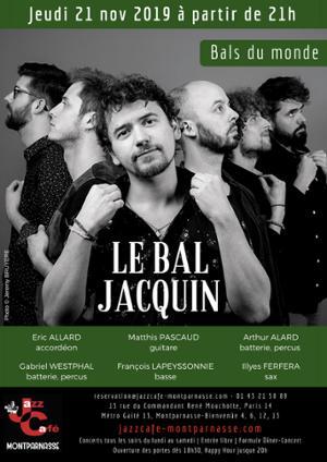 Le Bal Jacquin au Jazz Café Montparnasse