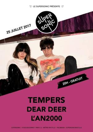 Tempers au Supersonic // Free