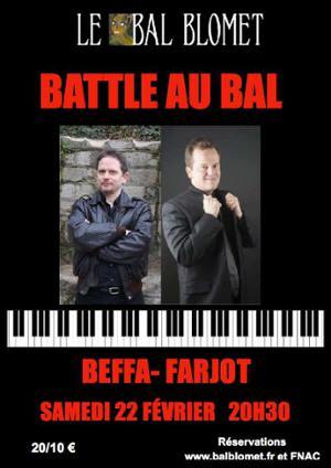 « BATTLE AU BAL » BEFFA & FARJOT, LES DUELLISTES
