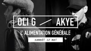 Akye + Oli G (dj sets)