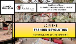 Conférence/Débat - Fashion Revolution Week