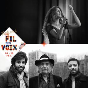 FESTIVAL AU FIL DES VOIX 2019 : DAFNÉ KRITHARAS + DAN GHARIBIAN TRIO