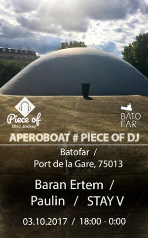 APEROBOAT # PIECE OF DJ