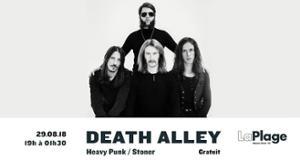 DEATH ALLEY : Concert gratuit à LaPlage