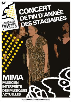 CONCERT DE FIN D'ANNÉE DES STAGIAIRES MIMA