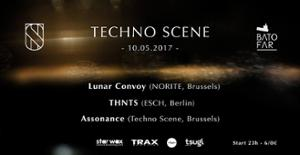 Techno Scene w/ THNTS, Lunar Convoy, Assonance @Batofar