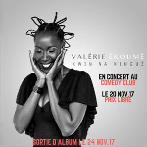 Valérie Ékoumè au Comedy Club
