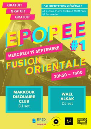 Épopée #1 — Fusion Orientale • MKDC • Wael Alkak // gratuit