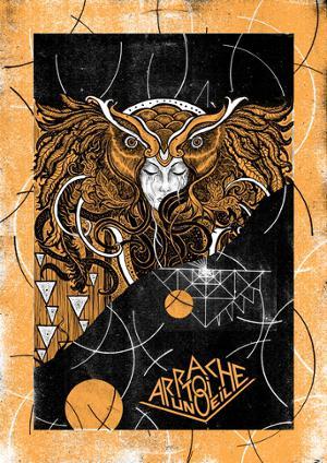 Rock Poster Addict Exposition du Duo Arrache-toi un oeil
