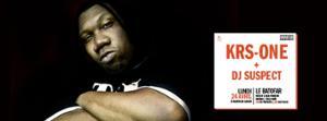 Concert: KRS-One + DJ Suspect @Batofar