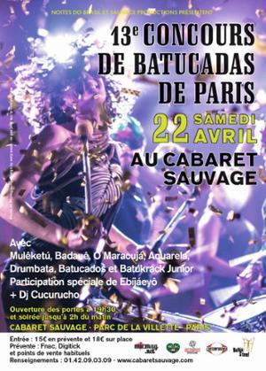 13e CONCOURS DE BATUCADAS DE PARIS