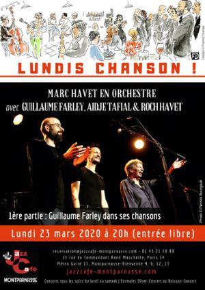 Lundis Chanson ! Marc Havet en orchestre au Jazz Café Montparnasse