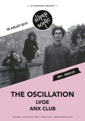 The Oscillation en concert au Supersonic (Free entry)