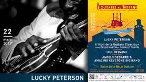 Soirée Blues - Guitares au Beffroi 2019
