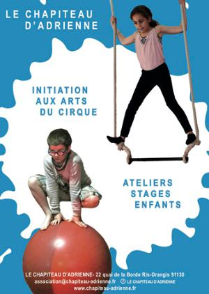 Stage d'initiation aux arts du cirque (7-14 ans)