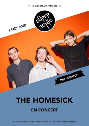 The Homesick • Fornet / Supersonic (Free entrance)