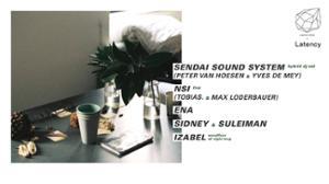 Concrete x Latency: Sendai Sound System, NSI, ENA, Izabel