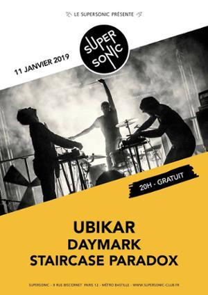 Ubikar • Daymark • Staircase Paradox / Supersonic - Free