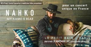 Nahko My Name is Bear en concert / Le Petit Bain Paris