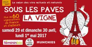 SOUS LES PAVES LA VIGNE #5 - SALON DES VINS ACTUELS ET NATURELS