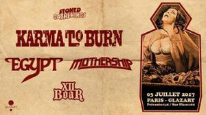 Karma To Burn - Egypt - Mothership - XII Boar - PARIS