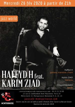 Haffyd H feat. Karim Ziad au Jazz Café Montparnasse