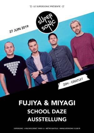 Fujiya & Miyagi en concert au Supersonic (Free entry)