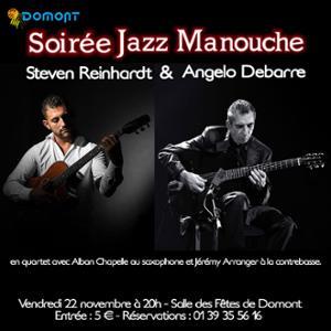 Steven Reinhardt & Angelo Debarre - Soirée Jazz Manouche