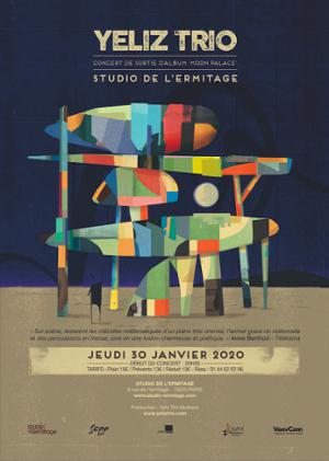 YELIZ TRIO au Studio de L'Ermitage