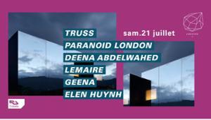Concrete : Truss, Paranoid London, Deena Abdelwahed, Lemaire