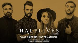Halflives + invités à l'International, Paris