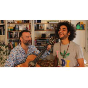 "Vittorio SAPONARO & Daniel PODSK ""Hommage à Joao Gilberto"""