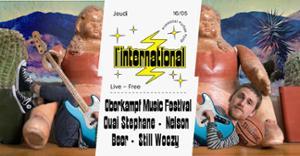Oberkampf Music Festival : Ouai StephaneNelson BeerStill Woozy