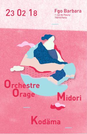 MIDORI + KODÄMA AVEC ORCHESTRE ORAGE