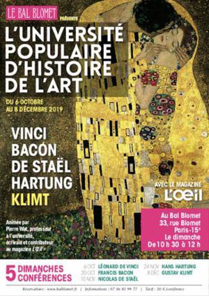 UNIVERSITE POPULAIRE D'HISTOIRE DE L'ART - GUSTAV KLIMT