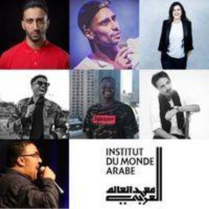 Soirée d'ouverture de l'IMA Comedy Club, avec Wary Nichen, Wahid Bouzidi, Ayoub Marceau, Nordine Ganso, Observateur Ebène, Yassine Hitch et Laura Dome