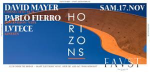 Faust — Horizons : Pablo Fierro, David Mayer, Lvtece