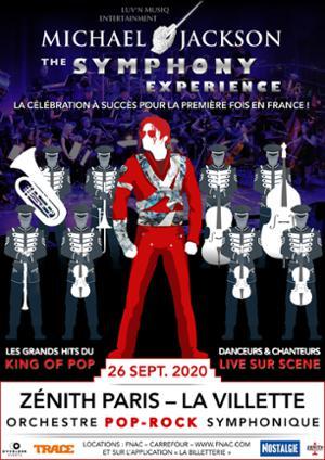 MICHAEL JACKSON : The Symphonic Experience, Zenith de Paris, 26 Septembre 2020.