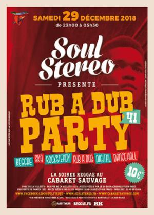 RUB A DUB PARTY #41 - SOUL STEREO SOUND SYSTEM