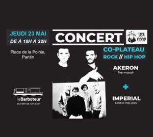 CoPlateau Rock // HipHop Akeron + Imperial
