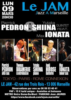 Pierrick Pédron & Yatuka Shiino Quintet Feat Max Ionata