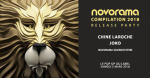 Novorama Compil 2018 Release Party w/ Chine Laroche & Joko