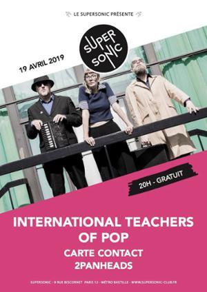 International Teachers Of Pop • 2PanHeads / Supersonic (Free)